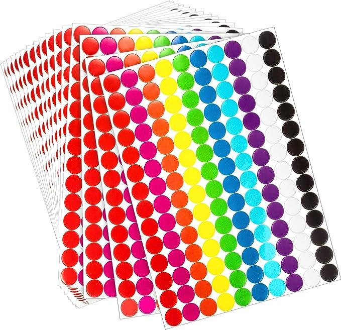 Fieltro adhesivo, di/ámetro 28/mm, color blanco, 45/unidades