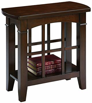 chair side table. crown mark camino chair side table o