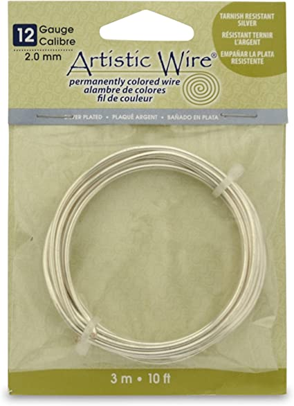 14 Gauge Permanently Colored Wire Copper Colored 10 Feet.