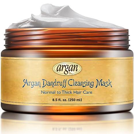 Vitamins - Acondicionador de limpieza profunda hidratante de pelo, mascarilla para cabello seco dañado grueso