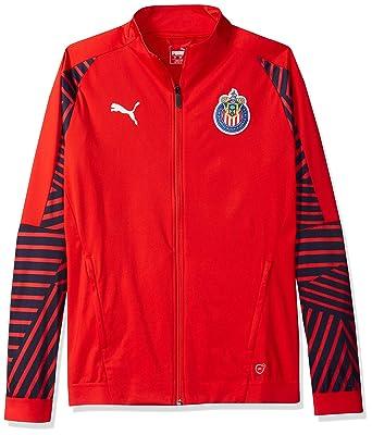 69200b023e01a PUMA Men's Chivas Stadium Jacket at Amazon Men's Clothing store:
