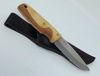 Amazon.com: Suecia escandinavo eka cuchillo de caza W11 ...