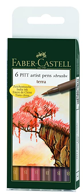 14 opinioni per Faber-Castell India ink PITT artist pen