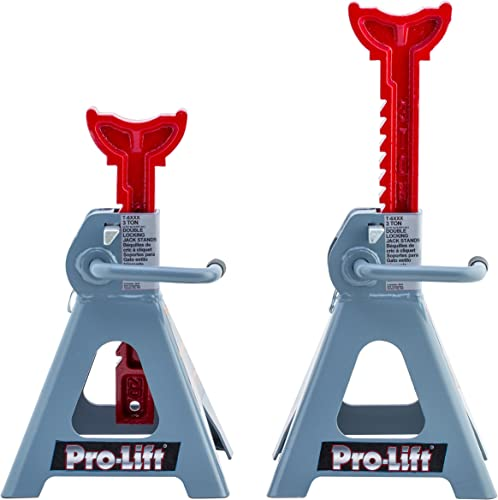 Pro-LifT T-6903D Double Pin Jack Stand - 3 Ton