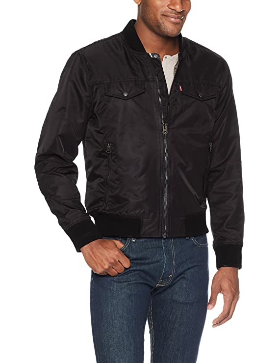 Levi's Men's Varsity Bomber Trucker Jacket by Levi%27s