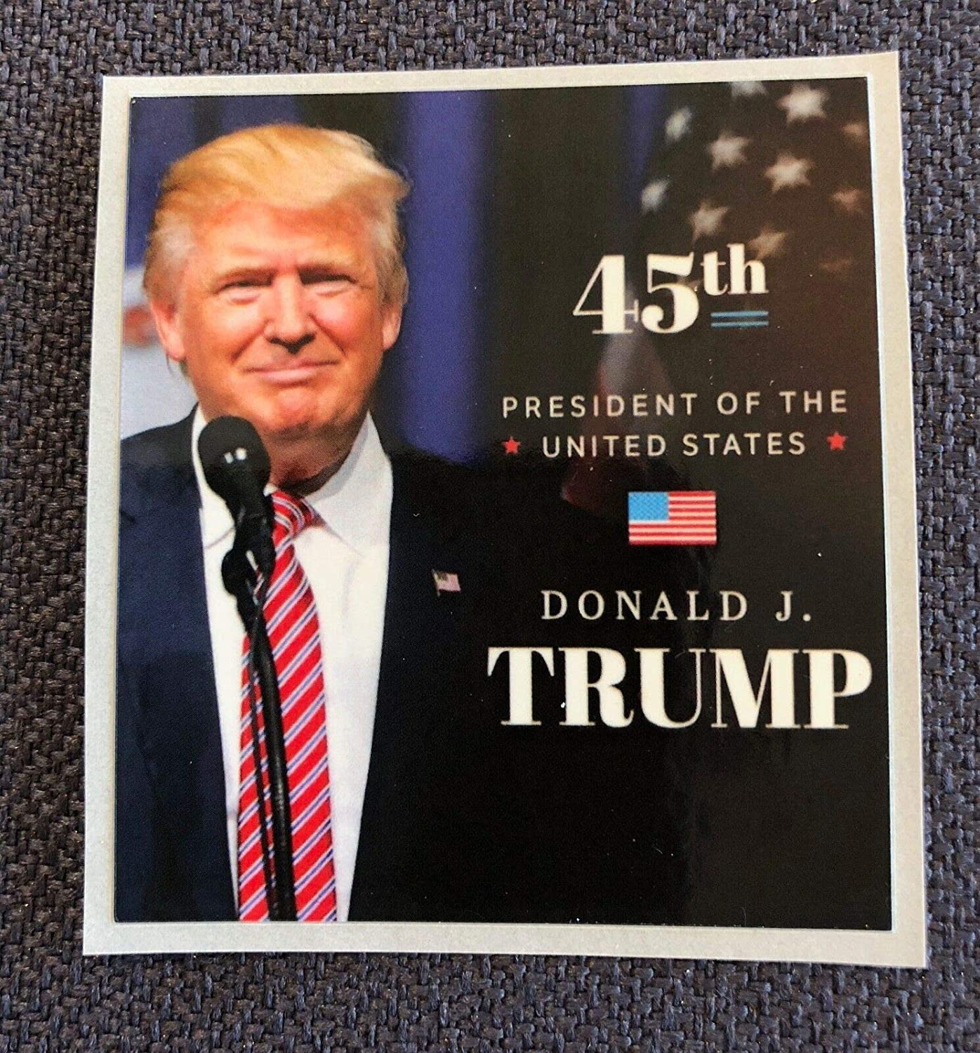 """Decal Picture Photo Donald Trump 8 1//2/""""x11 on Card Stock..No Dream is to Big."""