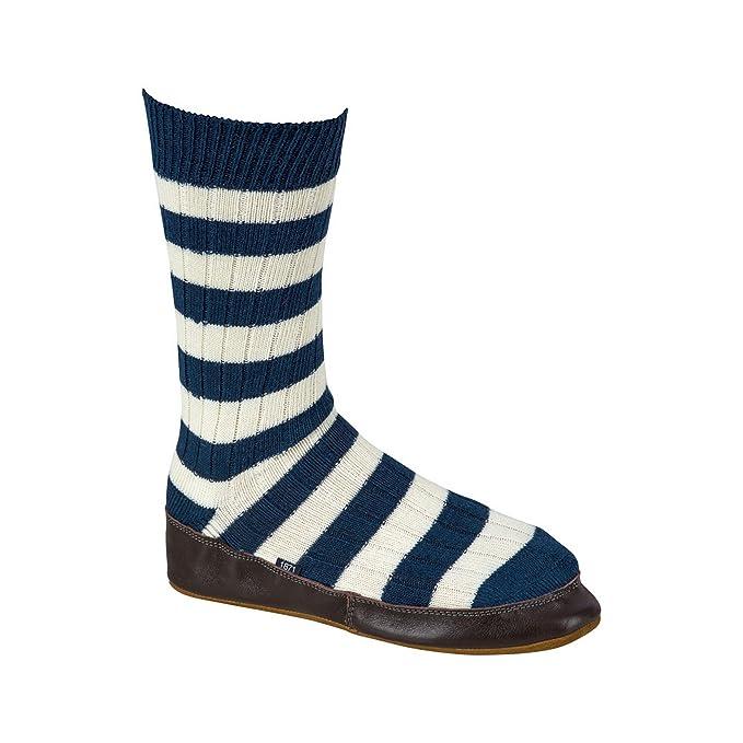 Black & Blue 1871 - Calcetines estilo zapatilla de estar en casa modelo Queen House para