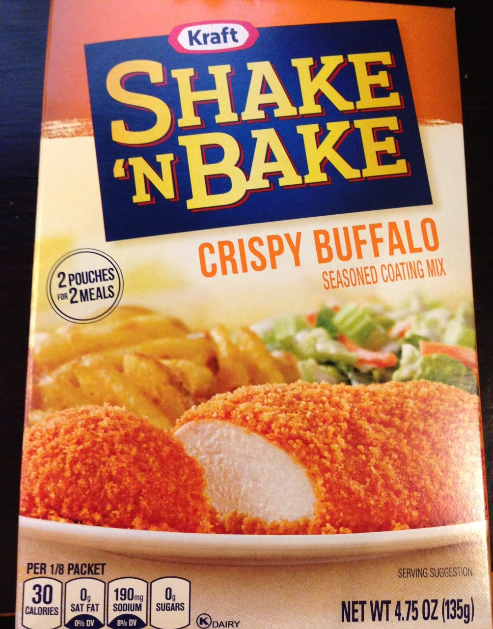 Shake 'N Bake Crispy Buffalo Seasoned Coating Mix 4.75 Oz (Pack of 3)