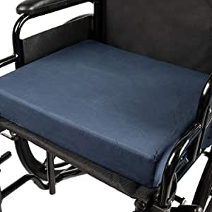 DMI Seat Cushion for Wheelchairs, Mobility Scooters, Office and Kitchen Chairs or Car Seats to Add Support and Comfort while Reducing Pressure and ...