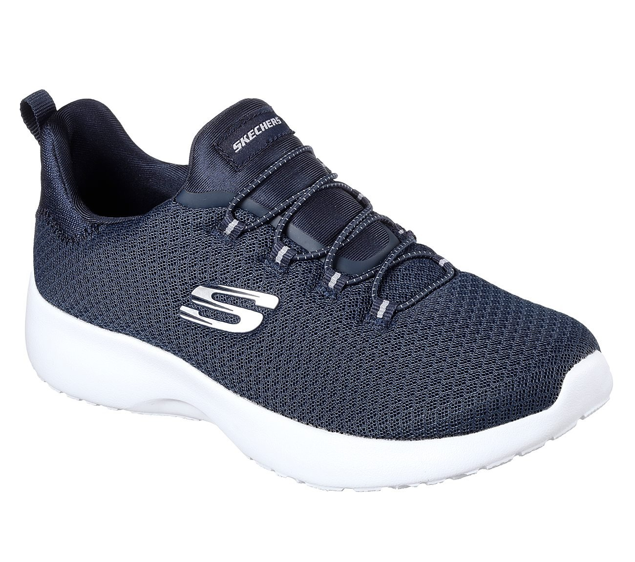 Skechers 12991/GYLP Dynamight-Break-Through Damen Sneaker Slipper Grau/Rosa  39 C/D EU|Navy