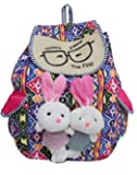 Todays Collection Women's Backpack Handbag(Multicolor,Bag-546)