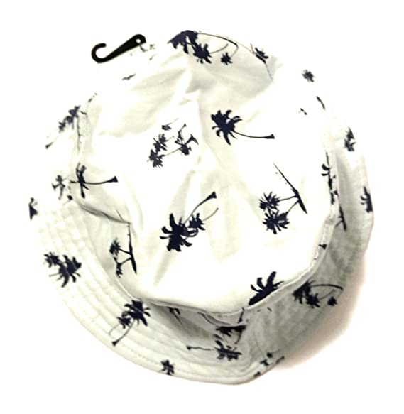 fd52afffc4f Image Unavailable. Image not available for. Color  Urban Pipeline Mens Palm  Tree Bucket Hat ...