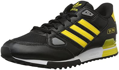 adidas Men's ZX 750 Gymnastics Shoes, Black (CblackEqtyelChsogr),