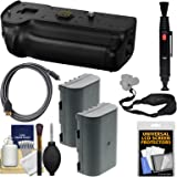 Panasonic DMW-BGGH5 Battery Grip for Lumix DC-GH5 & GH5S Camera with (2) DMW-BLF19E Batteries + Sling Strap + HDMI Cable + Kit