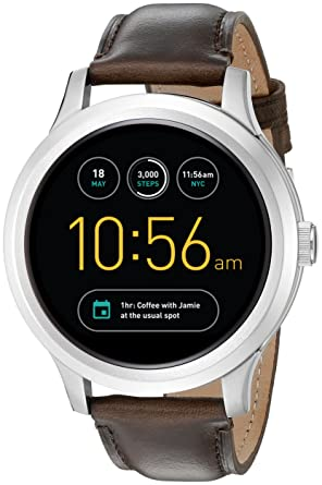 Amazon.com: Smartwatch Fossil Q Founder primera ...