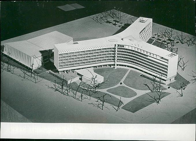 Amazon Com Vintage Photo Of Unesco New Permanent Head Office