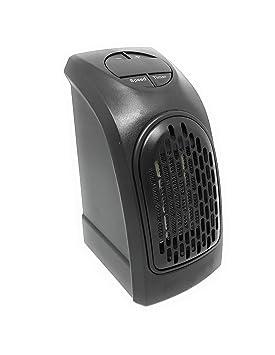 estufa 350 W De potencia Handy Heater Fast Portátil espina toma eléctrica Europea ajustable de 15 A 32 grados Bajo consumo para baño, casa, ...