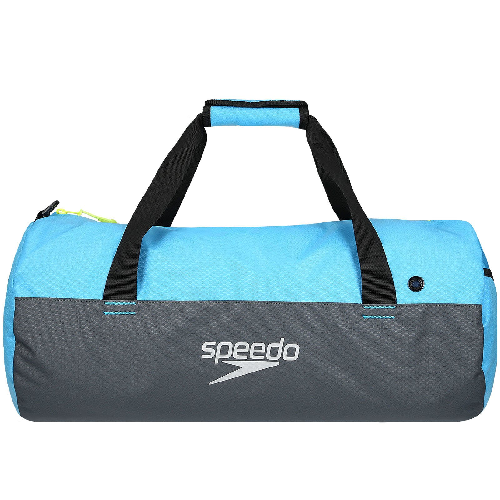 Speedo Waterproof Gym Pool 30L Duffel - Grey/Blue - OS