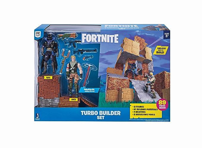 Fortnite FNT0036 - Set de constructores Turbo Jonesy y Raven,: Amazon.es: Juguetes y juegos
