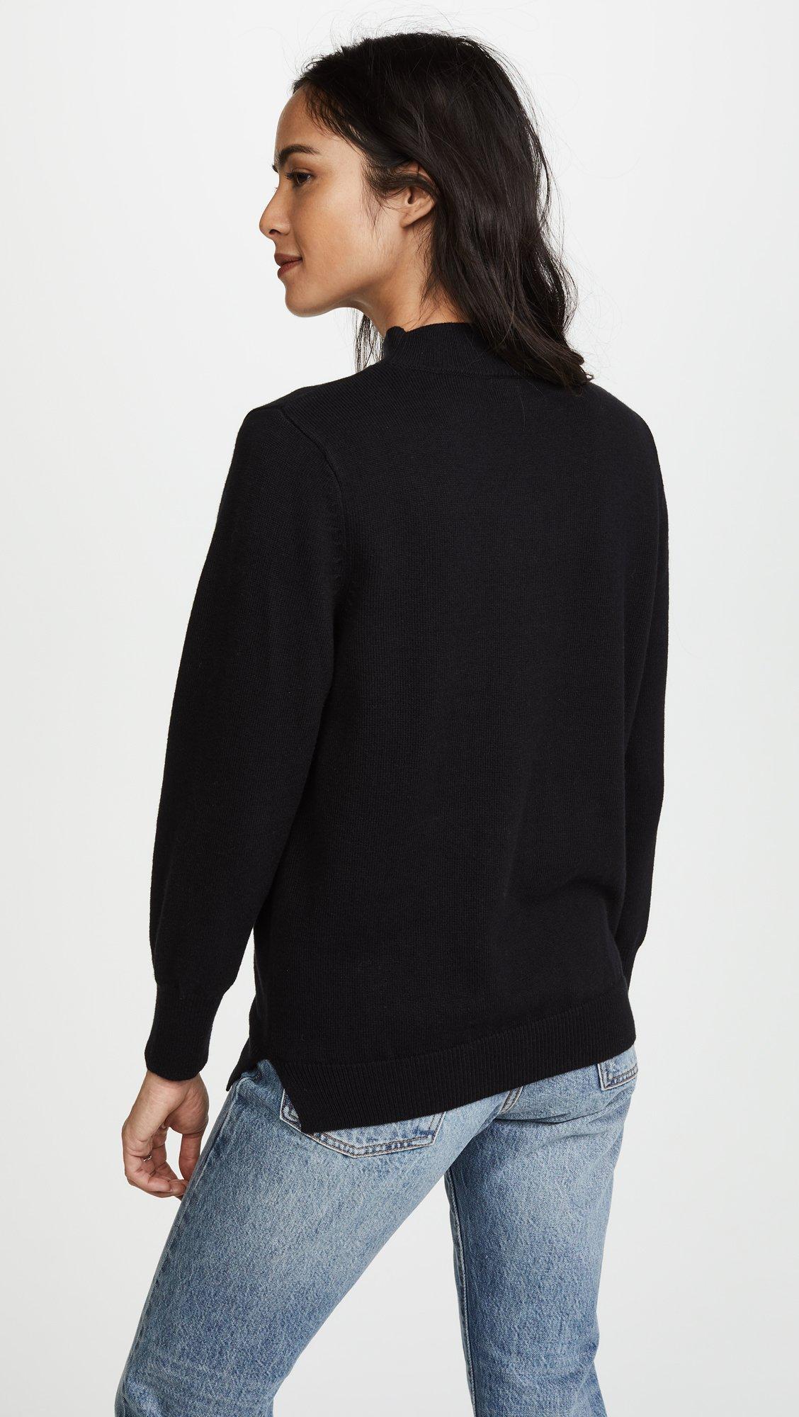 LNA Women's Joey Detached Sweater, Black, Small by LNA (Image #3)