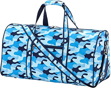 High Fashion 21 in Print Duffle Personalized Cool Camo