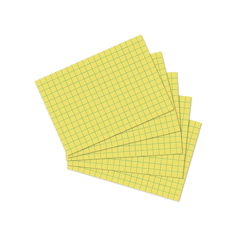 gelb Herlitz 10901486 Karteikarte A7 100 St/ück