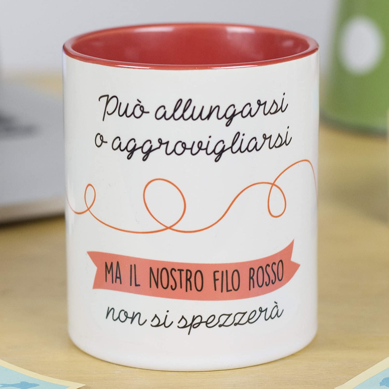 Regalo San Valentino La Mente /è Meravigliosa Tazza con Frase e Disegno Divertente Lunica Cosa Che Mi Piace di Te /è Tutto
