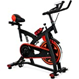Best Choice Products Exercise Bike Health Fitness Indoor Cycling Bicycle Cardio Workout W/LCD Screen