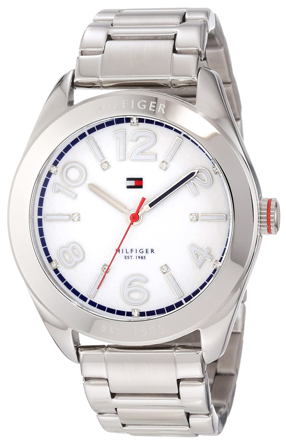 Amazon.com: Tommy Hilfiger Womens 1781259 Sport Stainless Steel Bracelet Watch: Tommy Hilfiger: Watches