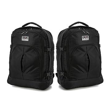 Aerolite 55x40x20 Ryanair Maximum Allowance 44L Backpack Rucksack Flight  Bag Carry On Hand Cabin Luggage - c57ac73c65