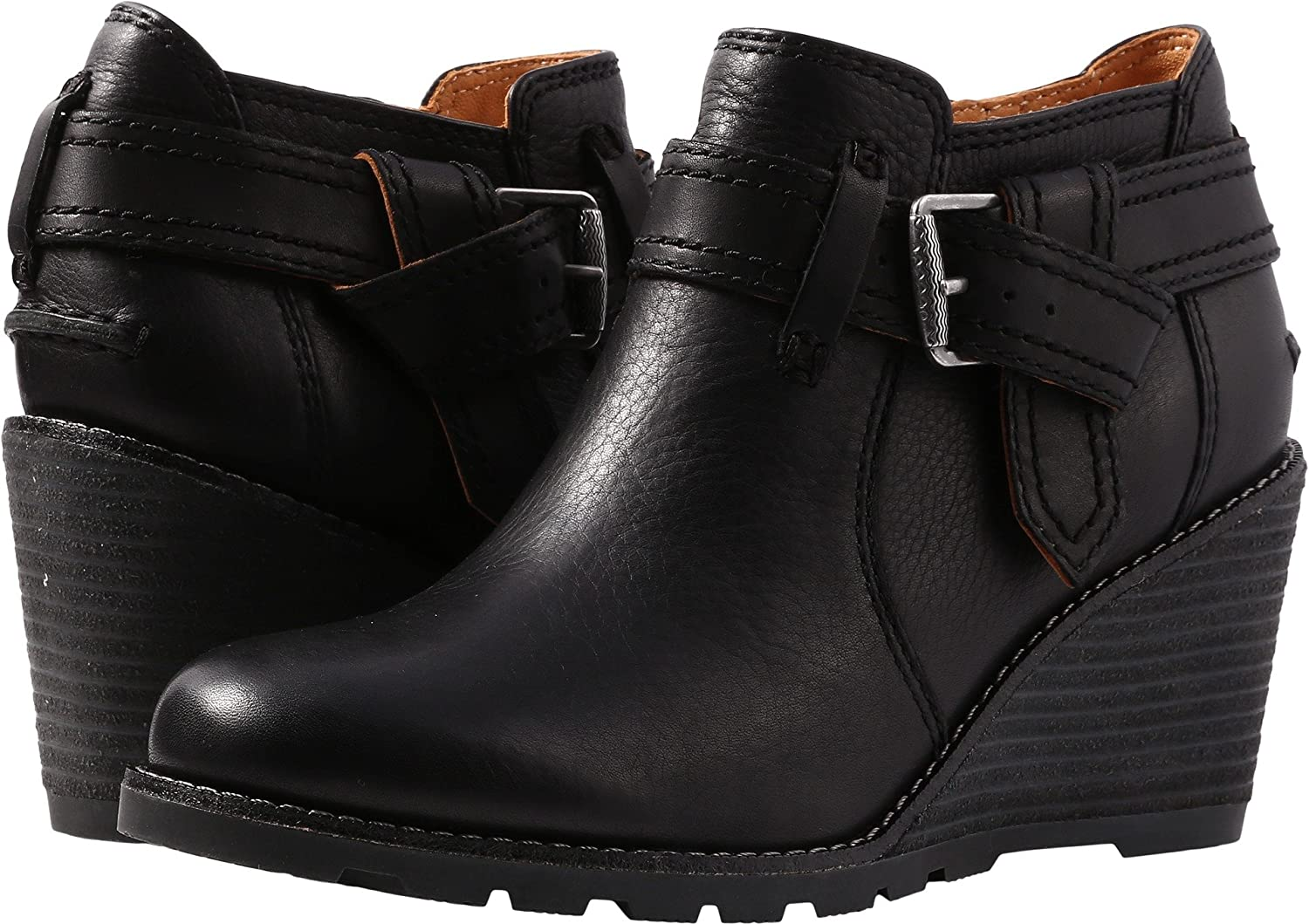 Womens Liberty Rosa Ankle Boot, Black, 8.5 Medium US Sperry Top-Sider