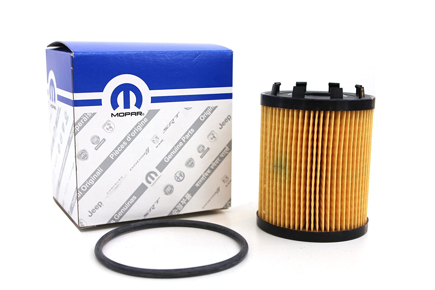 Genuine Fiat Parts 68102241AA Oil Filter, Oil Filters & Accessories