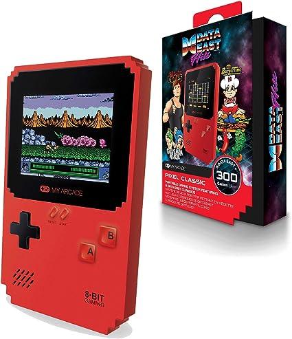 Amazon.com: My Arcade Pixel Classic - Handheld Gaming System ...
