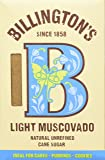 Billingtons Light Muscovado Sugar, 500g (Pack of 5)