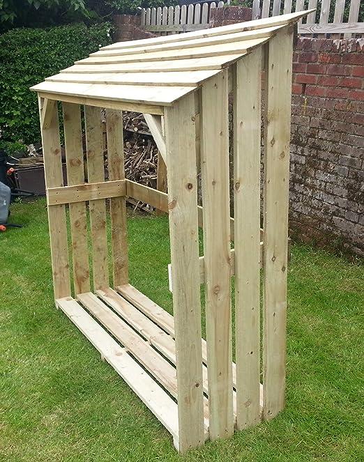 De madera para guardar leña - por contacto de madera - madera ...