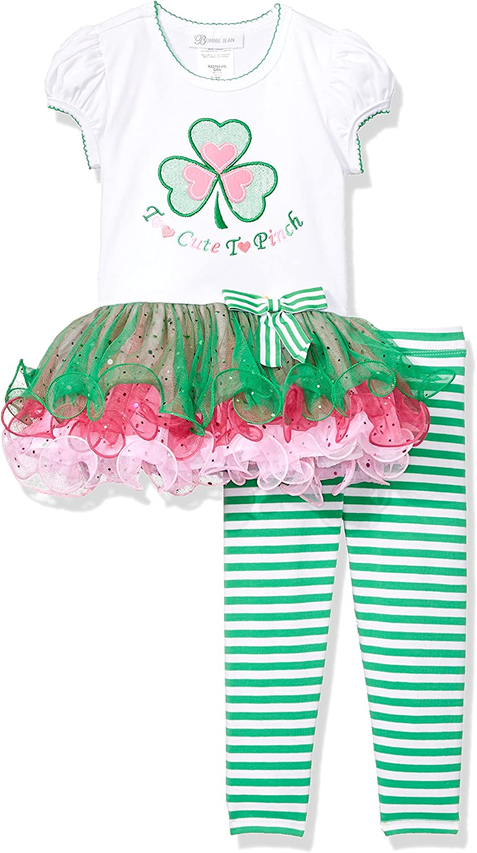 Bonnie Jean Girls' Appliqued Tutu Playwear Set