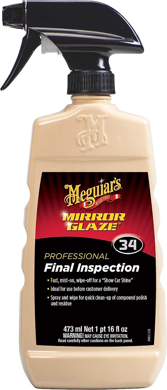 Meguiar S Mg 34 Final Inspection 473 Ml Auto