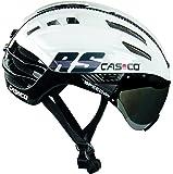 casco Speedairo RS–Casque de Cyclisme, Couleur Blanc/Noir