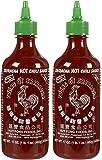 Huy Fong Sriracha Hot Chili Sauce Bottle - 17 oz - 2 Pack