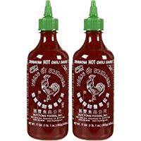 Huy Fong Sriracha Hot Chili Sauce Bottle - 17 oz - 2 Pack