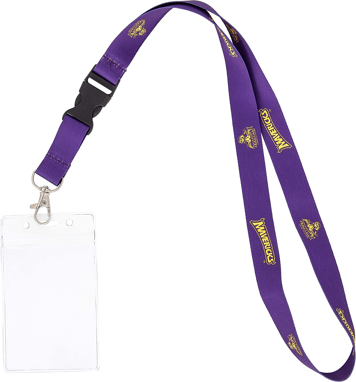 Minnesota State University Mankato NCAA Car Keys College ID Badge Holder Lanyard Keychain Detachable Breakaway Snap Buckle w//Pouch