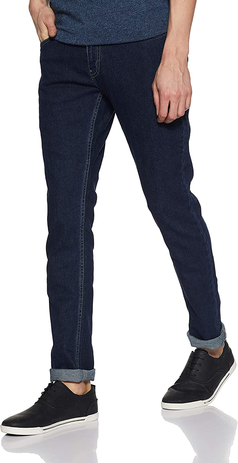 Spykar Men's Skinny Fit Stretchable Jeans