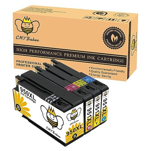 2 opinioni per CMYBabee 4-pacco Sostituzione per HP 950XL 951XL 950 951 XL Nuovo di zecca Ad