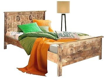 Loft24 Abc Bett 160x200 Cm Doppelbett Bettgestell Holzbett Ehebett
