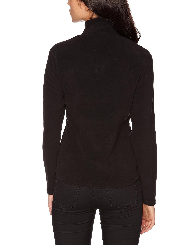 c6b8ac3c2e9 Amazon.com: THE NORTH FACE Women's 100 Glacier 1/4 Zip tnf black: Clothing