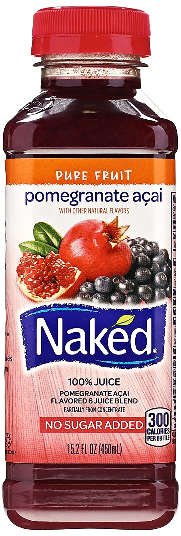 Naked pomegranate juice