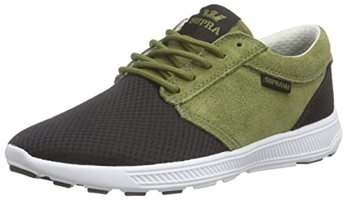 new products 1896c a0ab0 Supra Mens Hammer Run Olive Black White Shoes Size 11.5