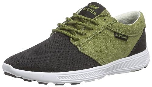 0dda0710a169 Supra Mens Hammer Run Olive Black White Shoes Size 11.5