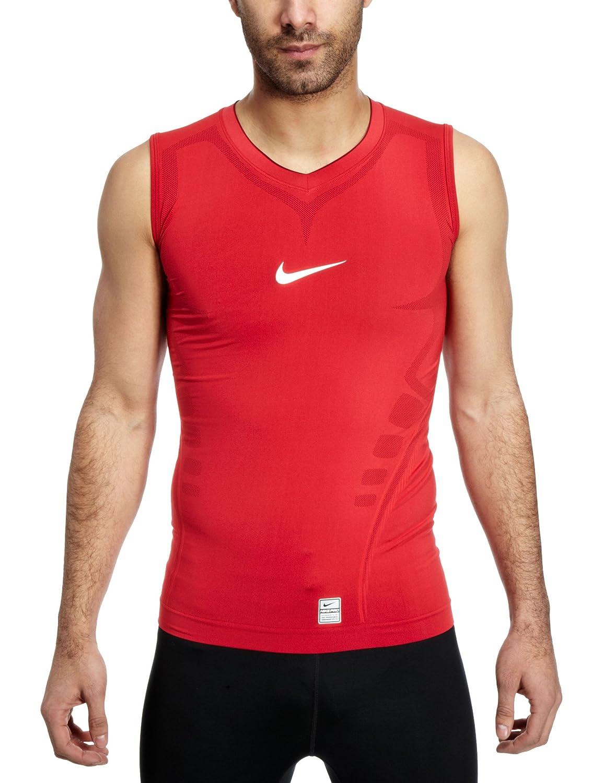 Nike PRO Vent Men'Tight Top, ärmellos, V-Ausschnitt