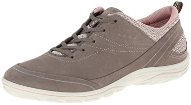 Ecco ARIZONA, Damen Outdoor Fitnessschuhe, Grau (DARK SHADOW/CORAL58925), 41 EU (11 Damen UK)